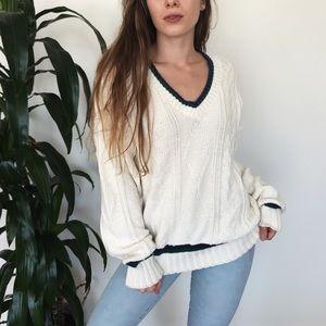 Sweaters - Vintage varsity boyfriend sweater